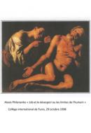 Alexis Philonenko : Job ou le désespoir de l'humain – 1998
